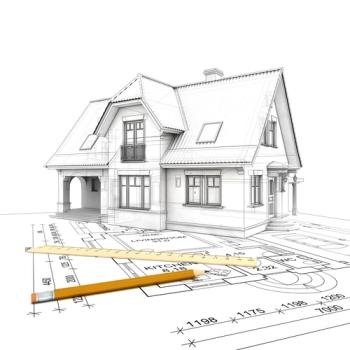 perencanaan desain gambar rumah